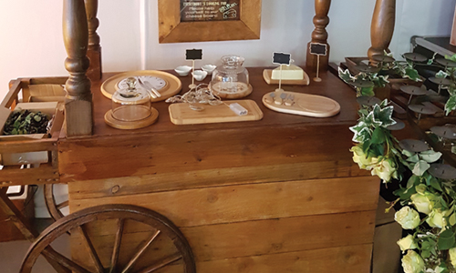 Hire Cheese Cart