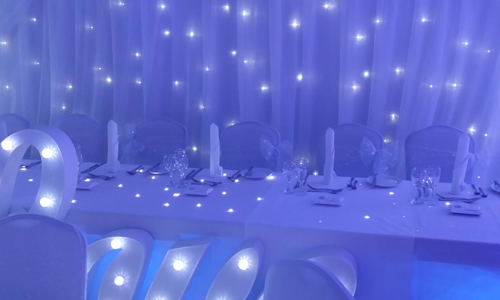 Mood Lighting hire shrewsbury