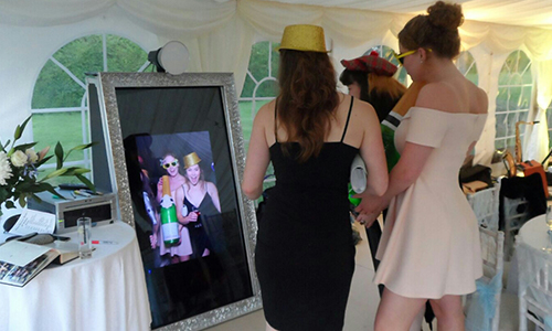 selfie mirror hire shrewsbury