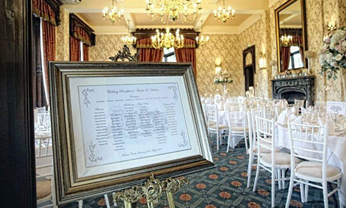 wedding Easel hire