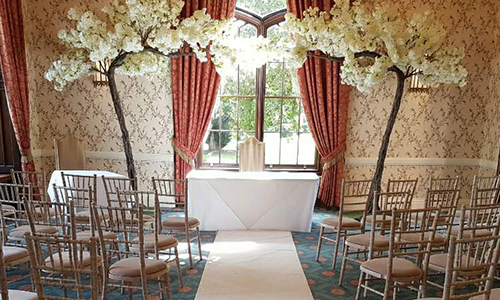 blossom tree arch hire
