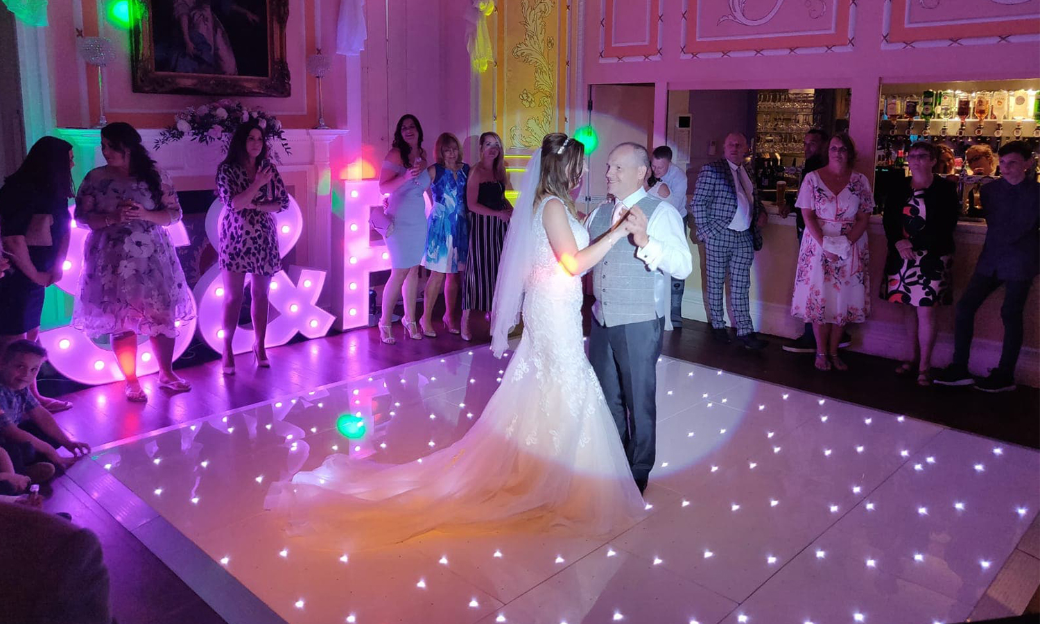 Dance floor hire littlegemfx