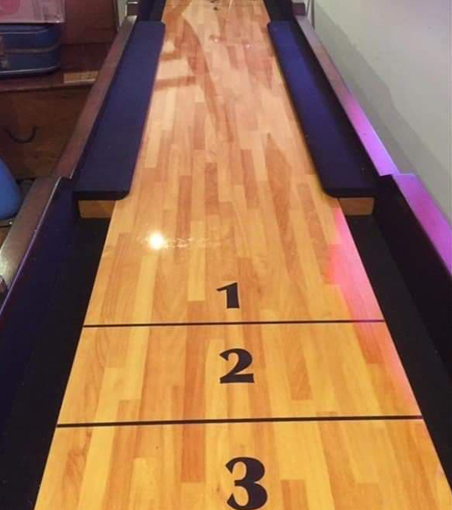 SHUFFLEBOARD game Hire