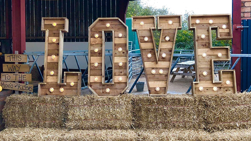 WOOD 'Rustic' Letters